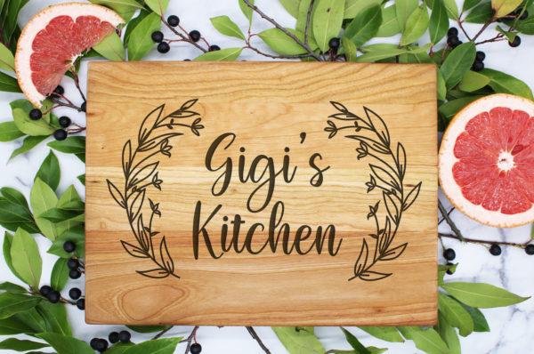 gigi's kitchen cutting board